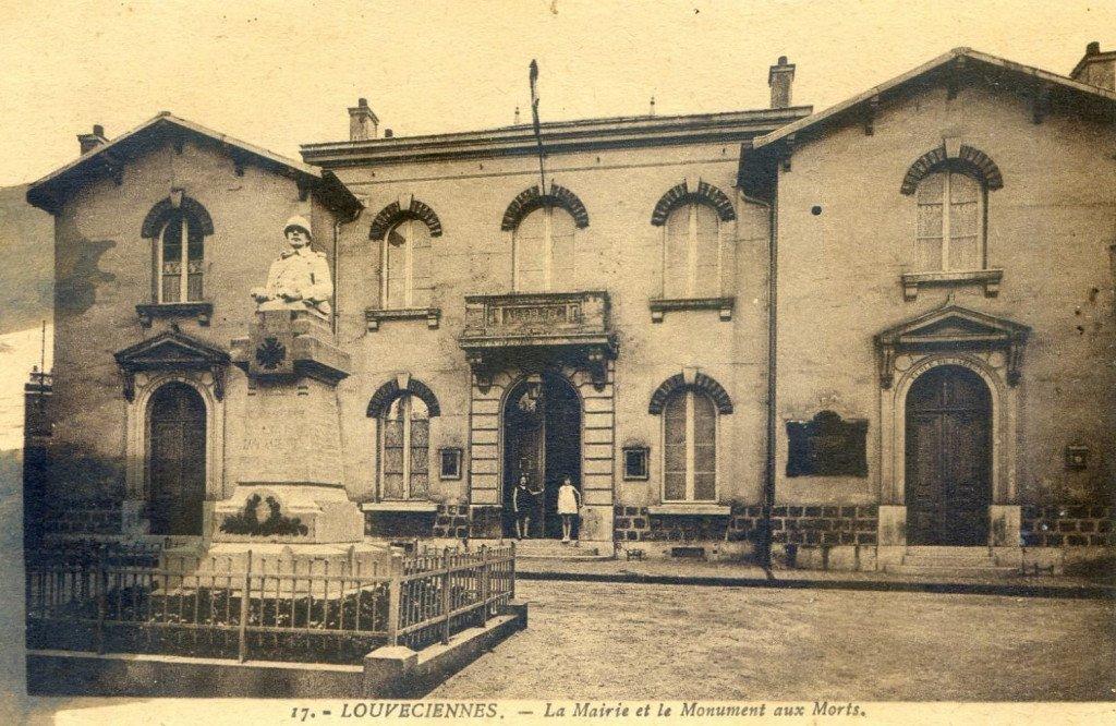 ancienne mairie monument aux morts 1