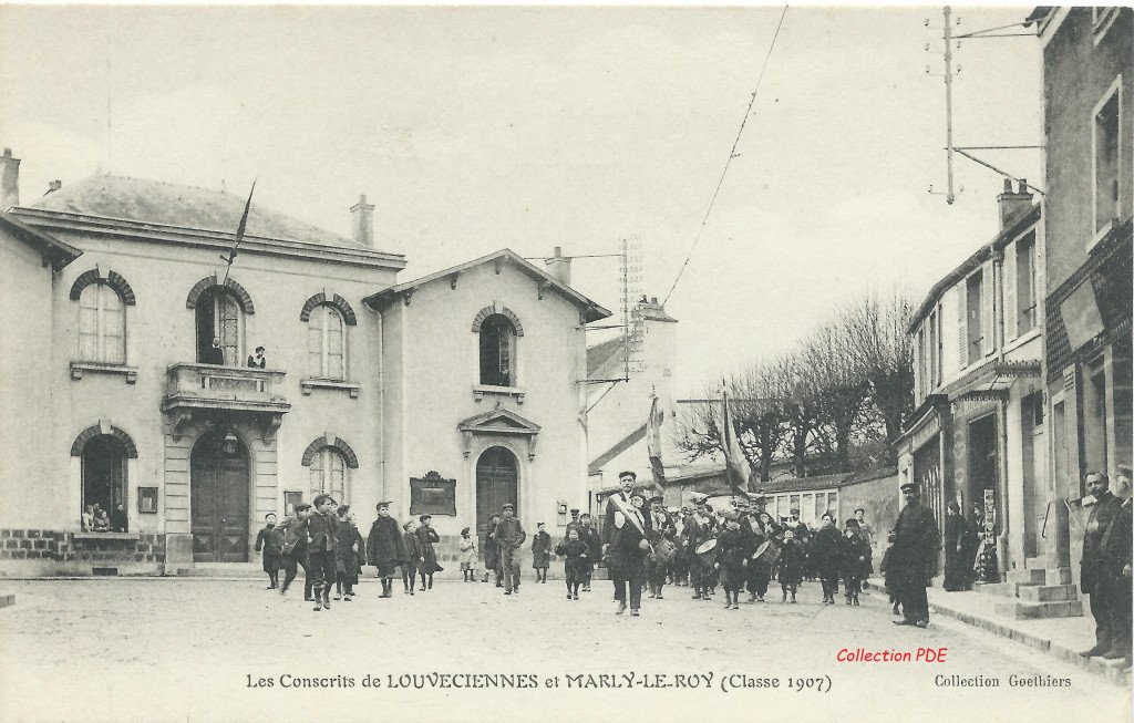 Eglise - Ancienne Mairie 10 Conscrits PDE