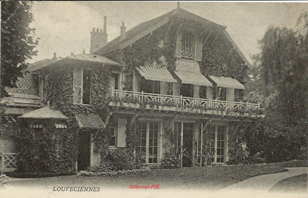 Maison mystere Louveciennes PDE