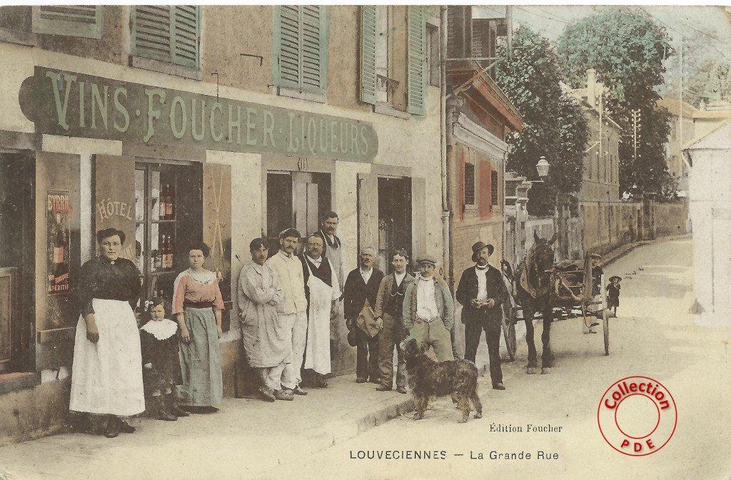 La Grande Rue 15 Cafe Mairie C