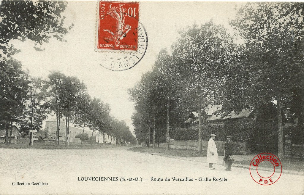 Route de Versailles Grille Royale 2