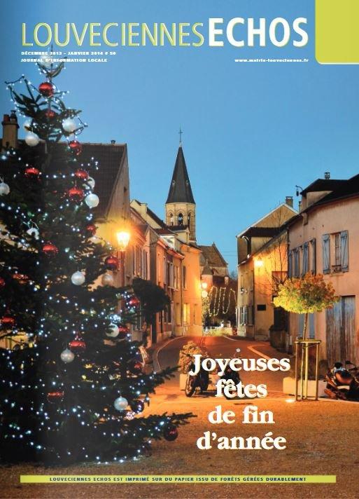 Couverture Louveciennes Echos Decembre 2013